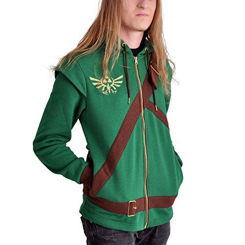 Bioworld - Sweat Cosplay Link The Legend of Zelda (Homme) - XL