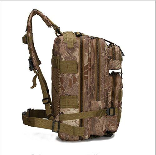 Tactical Rucksack, Multifunktions Military Rucksack für Outdoor Trekking Camping Wandern Jagd–