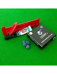 10mm Grand Billard, pointe de serrage et Bison Super Kit de valeur Colle