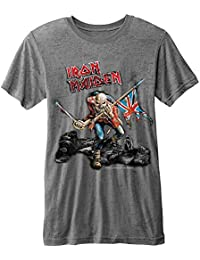 Rockoff Trade Men's Trooper Burn Out T-Shirt