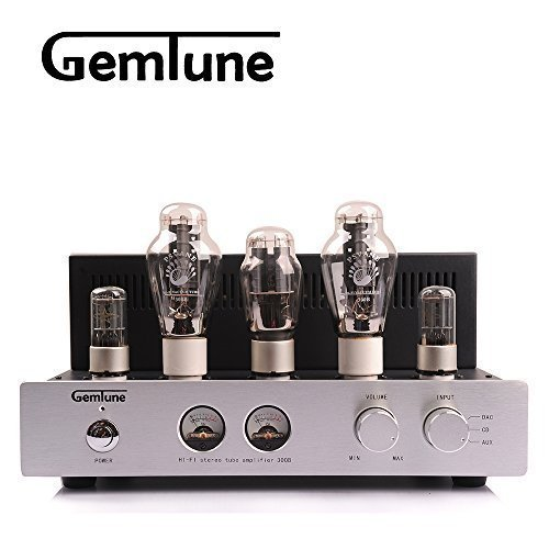 GemTune GP-01 Hallo-End-Vakuum-Röhrenverstärker, 300B*2+6N8P*2+5Z3P*1 , 100% Handarbeit,