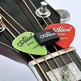 KING DO WAY Guitar Plek Pickholder Plektrumhalter Halter Gummi +2 Plektr?en Picks plektrum ( 0,81 mm Größe)