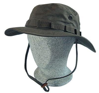 Boonie Hat Buschut GI Army Tropen Hut Grün Oliv von CN Outdoor - Outdoor Shop