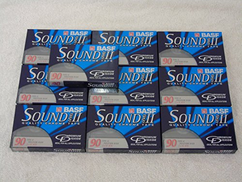 10-x-brand-new-basf-sound-level-ii-type-ii-chrome-90-min-blank-audio-cassette-tape