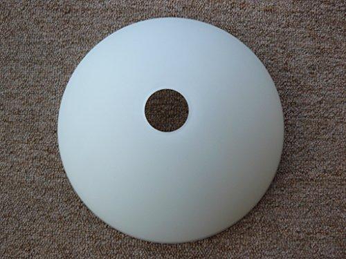 Ersatzglas, Lampenglas für Fassung E14, weiß matt - Runde, Weiße Glasschirm