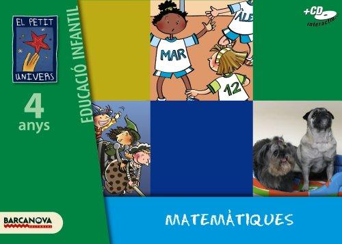 El Petit Univers P4. Matematiques. Carpeta de l'alumne - 9788448921743