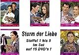Sturm der Liebe - DVD Box 1-5: Folge 1-50 (15 DVDs)