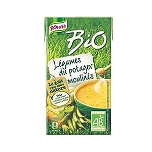 KNORR-KNORR Bio Soupe Légumes du Potager Moulinés 1l
