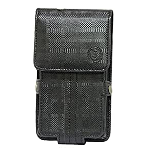 Jo Jo A6 D4 Series Leather Pouch Holster Case For samsung Galaxy grand3 Black