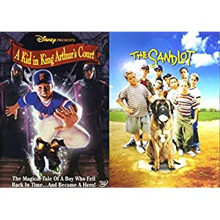 The SANDLOT & A Kid in King Arthur's Court Baseball Family Sports Movies Disney DVD Kids by Tom Guiry