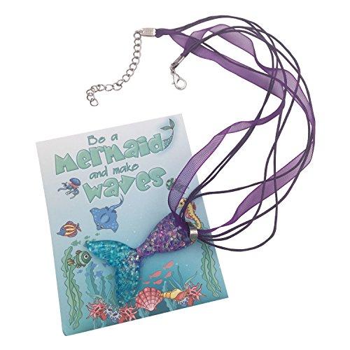 rjungfrau Halskette Party Geschenke für Mädchen | Individuelle Packung | Glitzernde Anhänger | Handarbeit ()