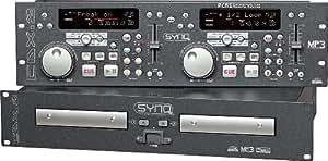 Synq CDX-2   CDX2   19-Zoll-Rack-Doppel-CD-Player   NEU