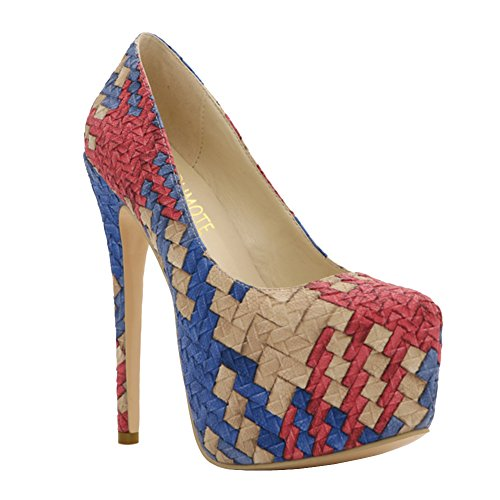 MERUMOTE, Scarpe col tacco donna Multicolore