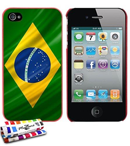 carcasa-rigida-ultra-slim-apple-iphone-4-de-exclusivo-motivo-de-brasil-bandera-roja-de-muzzano-estil