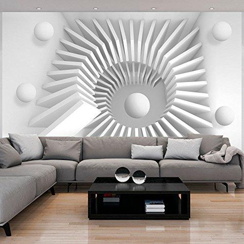 murando - Fototapete 350x245 cm - Vlies Tapete - Moderne Wanddeko - Design Tapete - Wandtapete - Wand Dekoration - 3d optische Illusion f-A-0143-a-a Wand Illusion