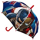 Marvel Kinder-Regenschirm 45 cm, Design: Captain America und Iron Man