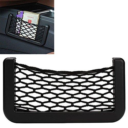 itimo New Car Storage Net Automotive Pocket Organizer Tasche für Handy Smartphone KFZ Halter Auto Tasche selbstklebend Visier Box Zubehör