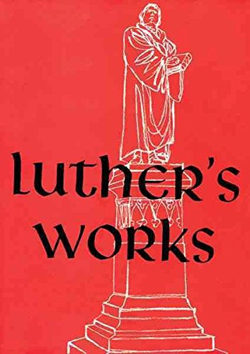 [(Works: v. 26)] [By (author) Martin Luther] published on (June, 1962)