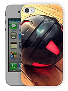 """Humor Gang Gravity Ball Printed Designer Mobile Back Cover For """"Apple Iphone 4-4S"""" By Humor Gang (3D, Matte Finish, Premium Quality, Protective Snap On Slim Hard Phone Case, Multi Color)"""