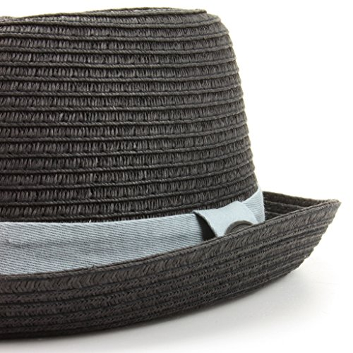 Hawkins - Chapeau porkpie - Aucun motif - Homme * Noir