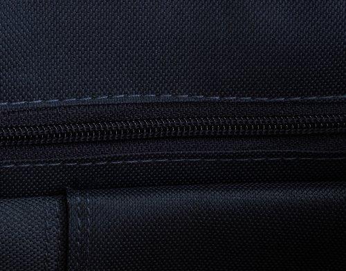 Logoshirt Borsa Messenger, Azzurro medio (Blu) - 134-0474-075 Azzurro medio