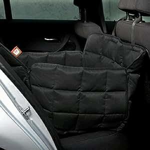 Doctor Bark 104221-400 Couverture de voiture pour chien 1 place NOIR Taille S Env. 60 x 50 x 47 cm