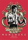 Hr Bruce Lee Nunchaku Grande Tela Póster/Bandera 1050mm X 750mm