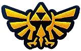 Legend of Zelda Hyrule's Royal Crest Gold Logo Aufnäher Patch