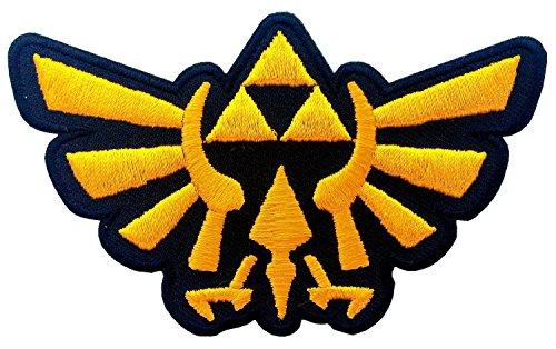 Preisvergleich Produktbild Legend of Zelda Hyrule's Royal Crest Gold Logo Aufnäher Patch