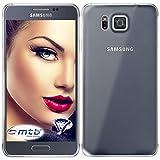 mtb more energy® Schutz-Hülle Clear & Slim für Samsung Galaxy Alpha (SM-G850)   transparent   flexibel   TPU Case Schutz Hülle Tasche