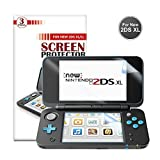 New Nintendo 2DS XL Display schutzfolie  - Younik 0.125mm / 4H Ultra-Klare HD Bildschirm folie f�r den Nintendo New 2DS XL 2017 Bild