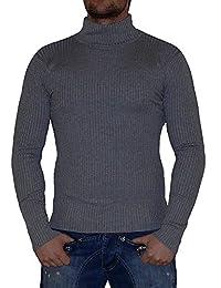 S&LU Super angesagter Stretch Rollkragen Pullover Strickpulli in verschiedenen Farben und Größen