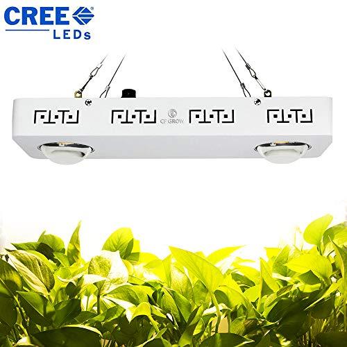 Pflanzenlampe 200W, fortgeschrittenes volles Spektrum 10-200W einstellbarer Schalter für Gewächshaus-Wasserkultur-Innenanlagen, die Veg und Blume wachsen