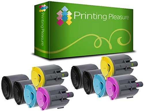 10 Toner kompatibel für Xerox Phaser 6110 / 6110 MFP / 6110 N / 6110 VN / 6110 VB / 106R01274 / 106R01271 / 106R01272 / 106R01273