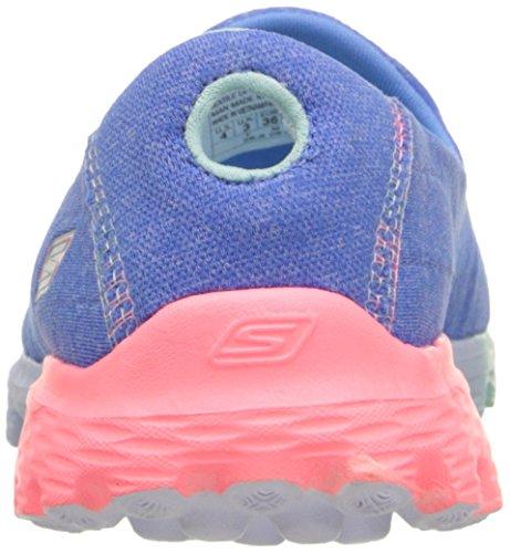 Skechers Mädchen Go Walk 2 Sweet Socks Hallenschuhe Blau (Blue Multi)