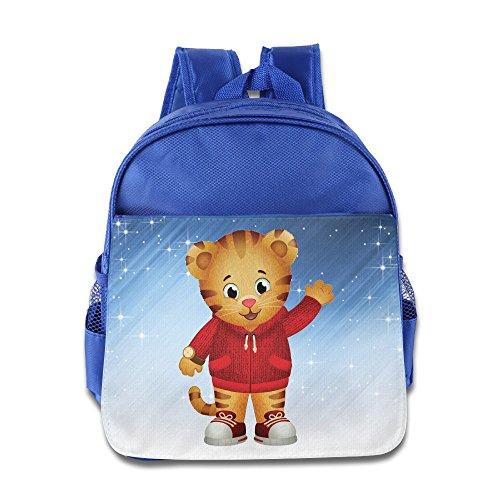 Elf Story-Cartoon Daniel Little Kid Baby Jungen Mädchen Kleinkinder Rucksack Tasche Königsblau, Jungen, Königsblau -