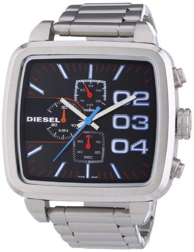 Diesel Herren-Armbanduhr Chronograph Quarz Edelstahl DZ4301