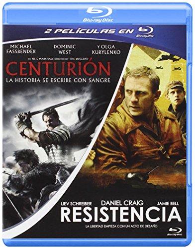 Pack: Centurion + Resistencia [Blu-ray] 519 d6iOWmL