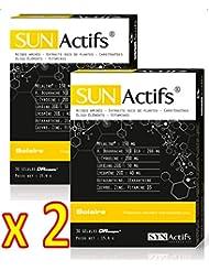 SYNActifs - SUNActifs SOLAIRE - Complément alimentaire - Lot de 2 x 30 Gélules