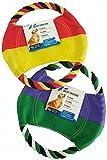 Migros Best Friend Hundespielzeug FRISBEE aus Baumwolle und Nylon für kleine, mittlere und große Hunde