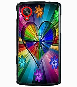 ColourCraft Abstract Image Design Back Case Cover for LG GOOGLE NEXUS 5