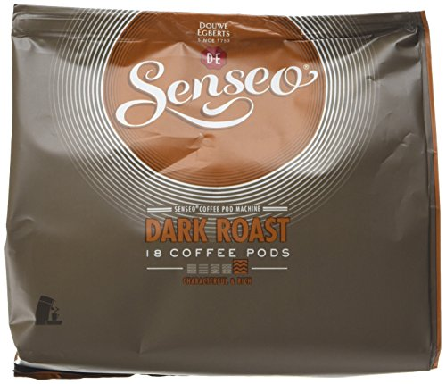 Douwe Egberts Senseo Dark Roast Coffee 18 Pads (Pack of 5, Total 90 Pads)