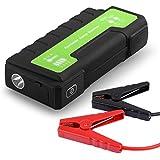 Maxesla Démarreur de Voiture Portable Booster Batterie 850A 18000mAh Démarrage de Voiture Booster Batterie Alimentation Eléctrique d'Urgence pour Voiture Camion Moto Bateau Automobile avec LED Flashlight