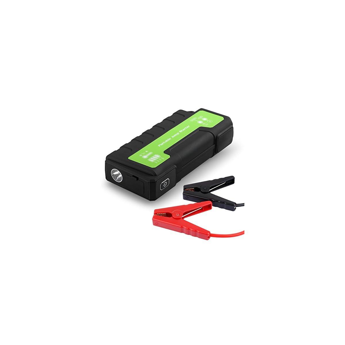 519 hmCrlcL. SS1200  - Maxesla Jump Starter de 18000mAh, 850A Batería Arrancador de Coche (Batería Externa Recargable, LED Flashlight,smartphones, tablets pc)
