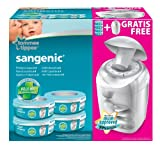 Sangenic 25056 0030 22 Twister Nappy Disposal Unit MK4 with 4 Universal Refill Cassettes