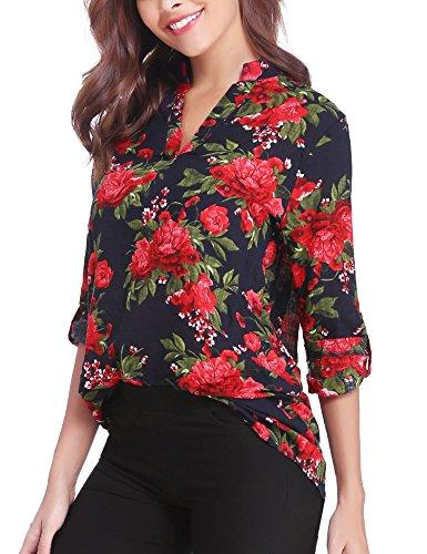 Abollia Camisa para Mujer, Blusa Elegante, Camiseta e T Shirt