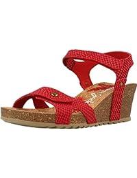 PANAMA JACK Sandalias y Chanclas Para Mujer, Color Rojo, Marca, Modelo Sandalias Y Chanclas Para Mujer Julia Snake B18 Rojo