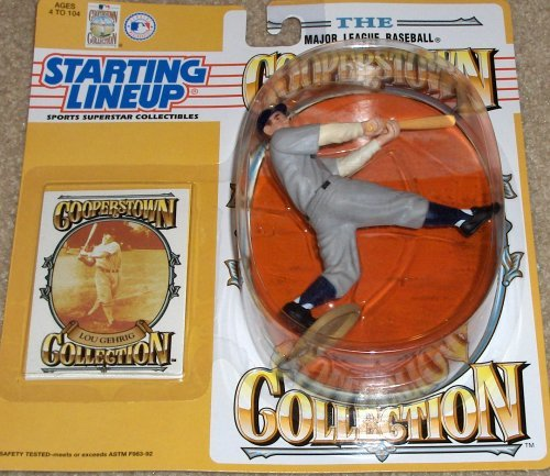 Lou Line (Lou Gehrig Cooperstown Collection Starting Lineup 1994 by Starting Line Up)