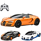 Bugatti Veyron 16.4 Grand Sport Vitesse - RC ferngesteuertes Lizenz-Fahrzeug im Original-Design, Modell-Maßstab 1:24, Ready-to-Drive, Auto inkl. Fernsteuerung