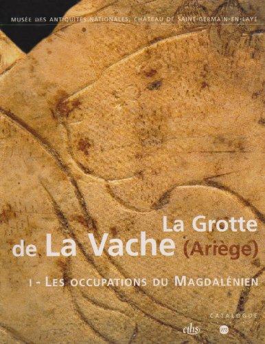 La grotte de la Vache (Ariège) : 2 volumes par Jean Clottes
